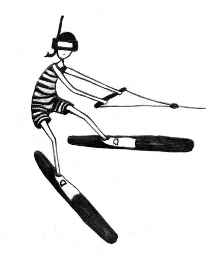 army of ink flipper girl ski 3