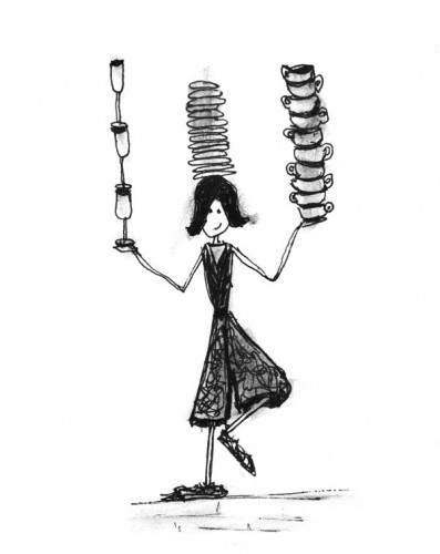 impossible girl plates